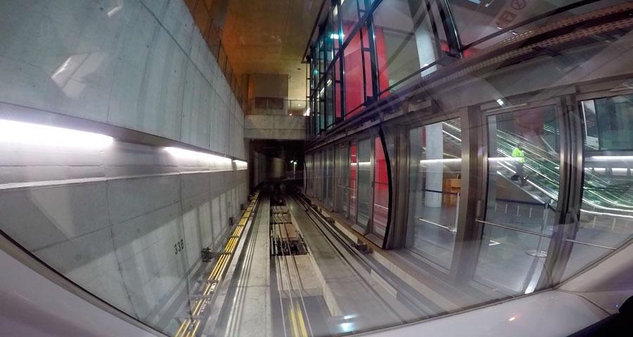Метро Цюрих в аэропорту