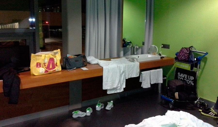 Номер в танзитном отеле аэропорт г Цюрих