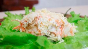 французский слоеный салат