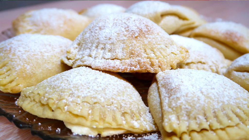 Печенье сугробики