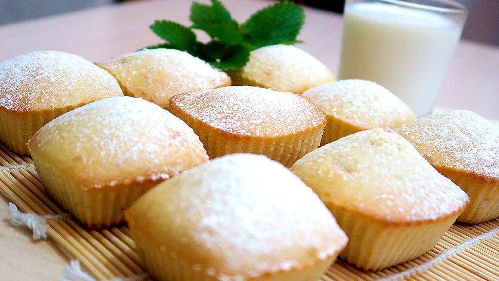 Кексы на сгущенки без яиц и молока