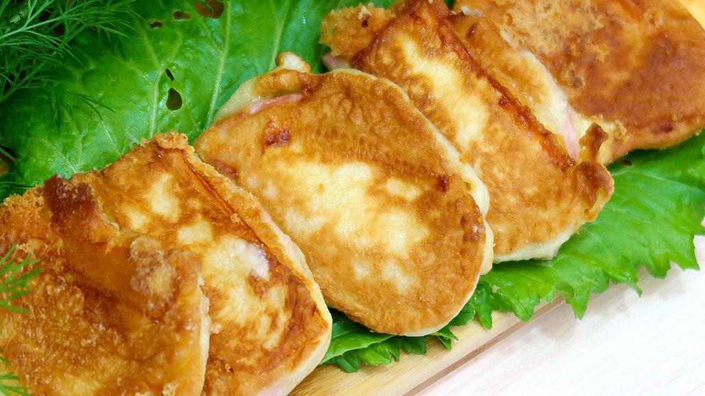Горячие бутерброды без хлеба