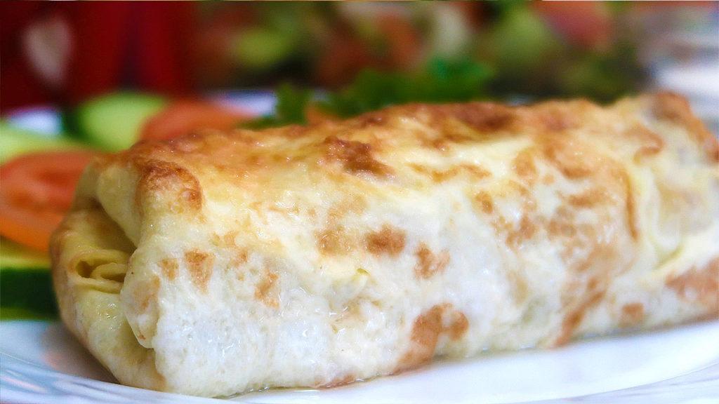 Бризоль с курицей и сыром в духовке