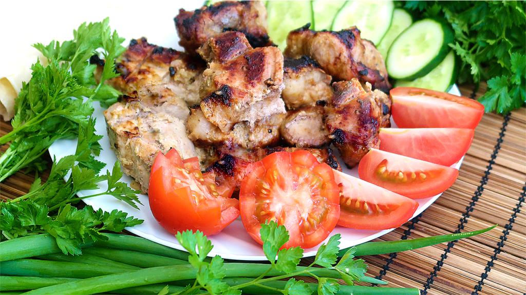 Шашлык из свинины Как замариновать