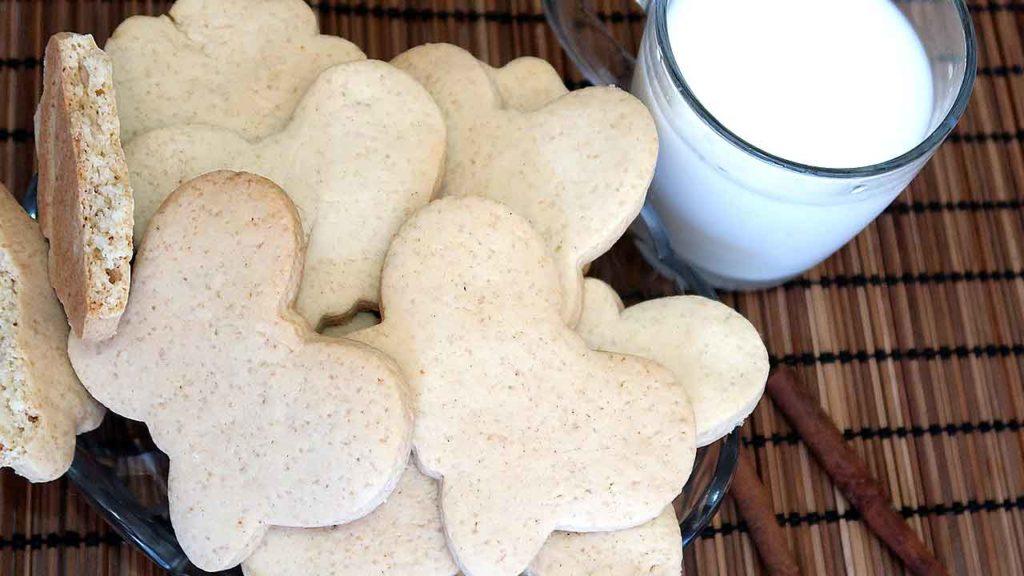 Печенье к чаю с медом и корицей