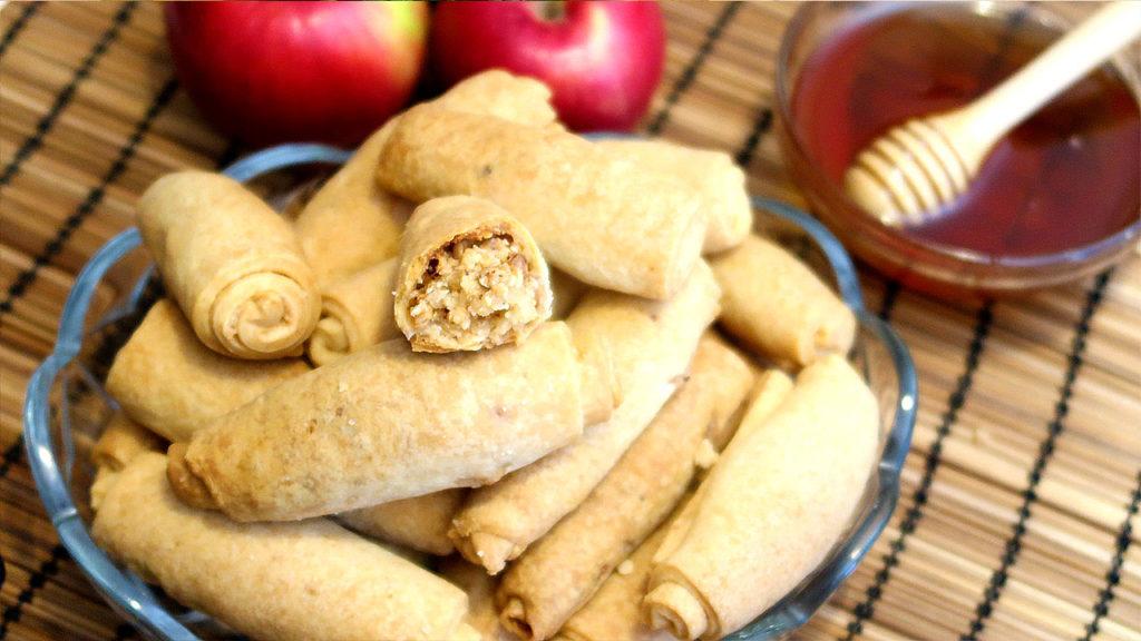 Вкусное ореховое печенье