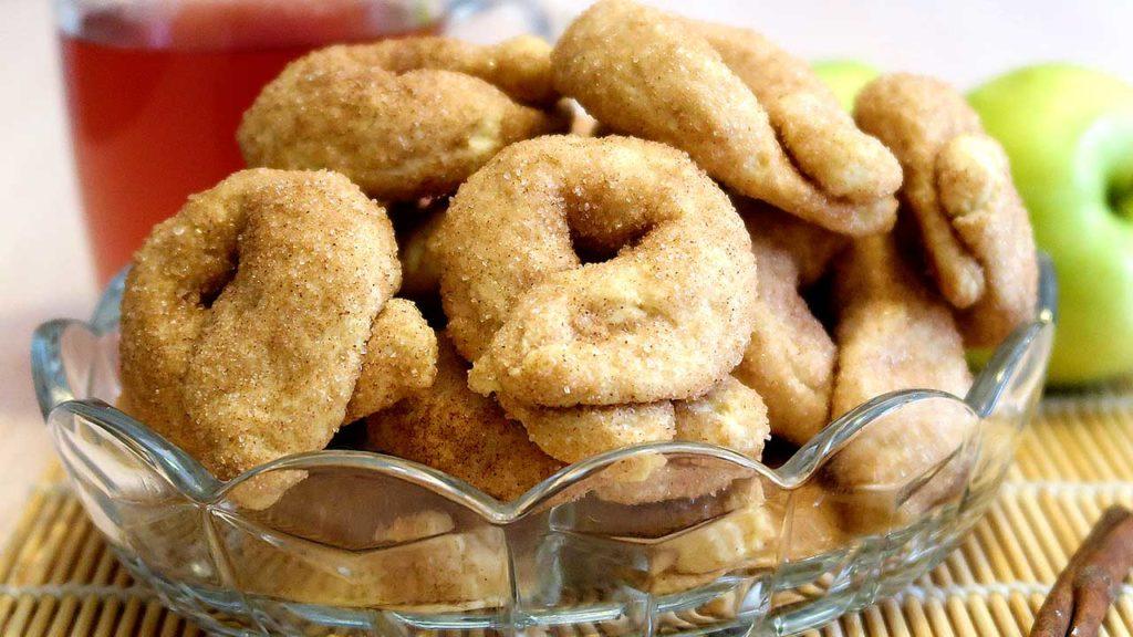 Ароматное печенье с корицей