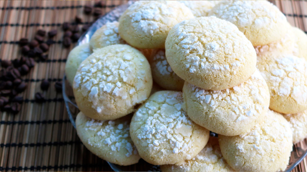 Вкусное рассыпчатое печенье без муки