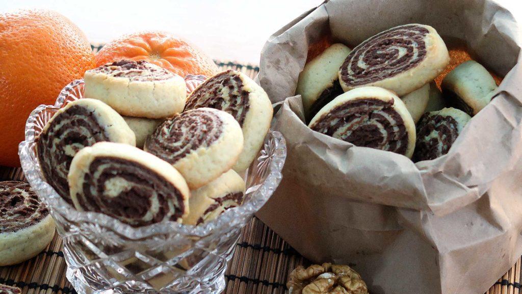 Шоколадно-ванильное печенье