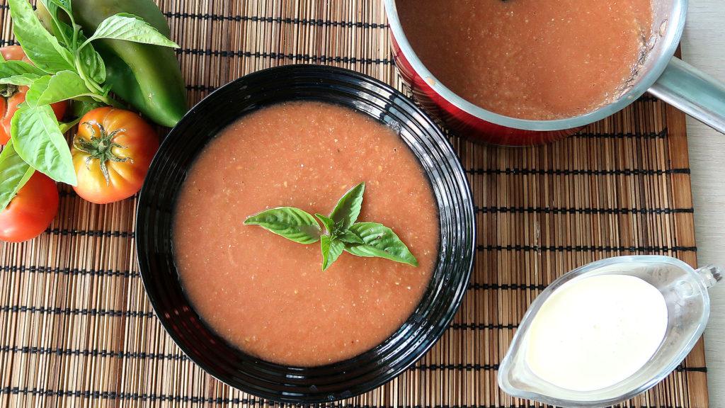 Летний холодный суп