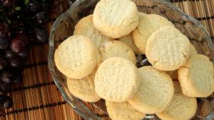 Нежное сливочно-кокосовое печенье